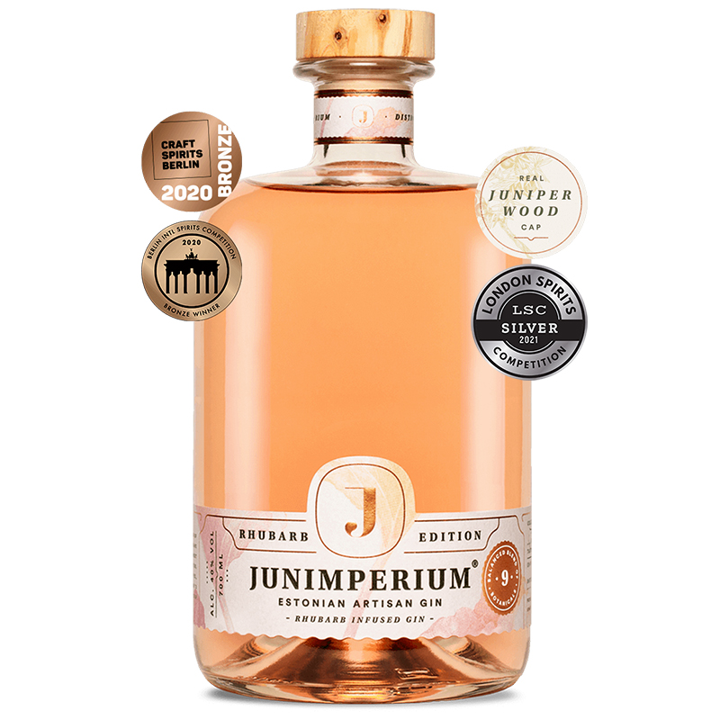 Junimperium Rhubarb Infused Gin